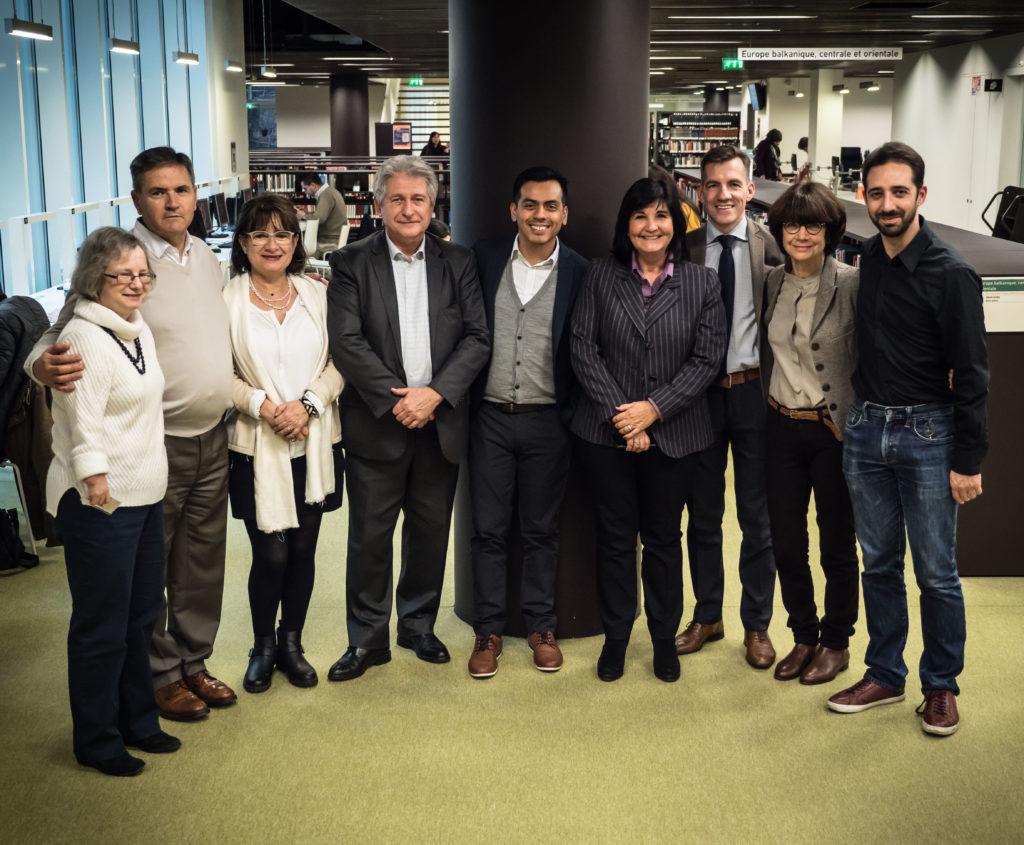 Participants journées Nouveaux Bibliothécaires